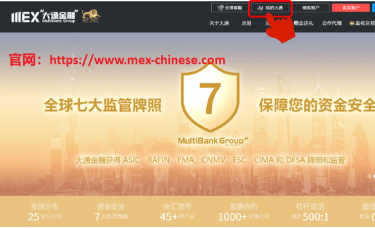 MEXGROUP 官方捷报   大通金融发布全新MYMEX,金融科技领跑全球!