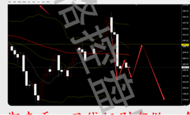 2.27回顾1960做的空原油37.4的多!下周黄金走势分析
