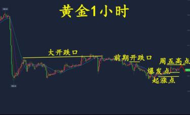 谢思芸:黄金仍然处于震荡趋势!看美盘定局!原油做多!