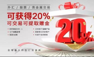MEXGroup:赠金送礼 | 20%可交易可提取赠金!至高可达$40000