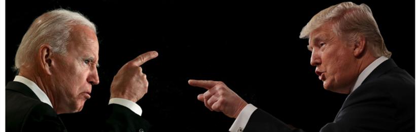 """""""你傻逼!你闭嘴!"""" 川普气势吊打拜登,连任稳了?总统辩论全回顾"""