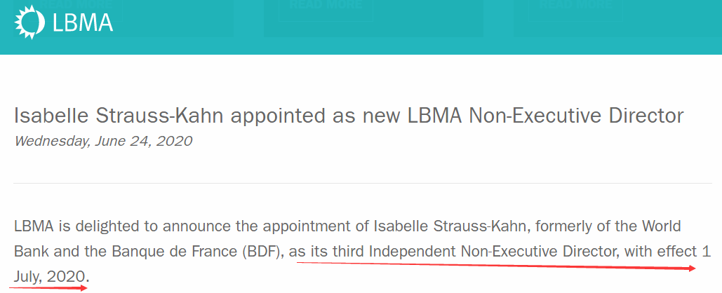 LBMA一场人事任免,竟牵扯出黄金市场无数操纵丑闻?